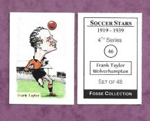 Wolverhampton Wanderers Frank Taylor 46 (FC)